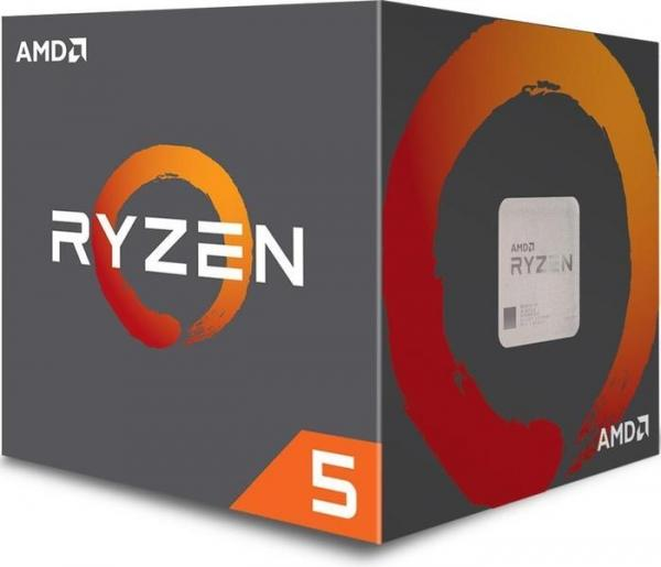 AMD Ryzen 5 2600X Boxed    6 x 3.40 GHz, Turbo 3.90 GHz, 12 Threads